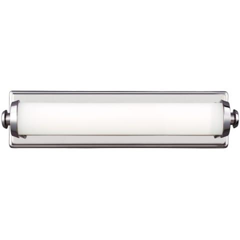 "Edgebrook 18"" LED Wall Sconce Polished Nickel Bulbs Inc"