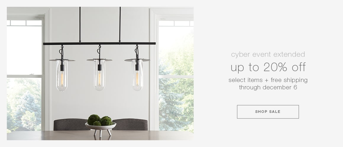 cyber event: up to 20% off select items