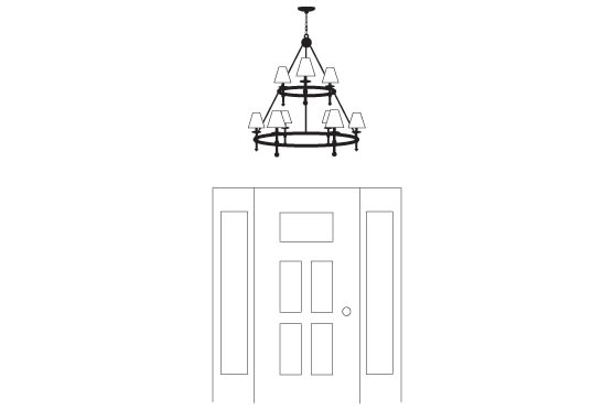 Ceiling Fixture Tips - Great rooms / ceilings 10' or taller