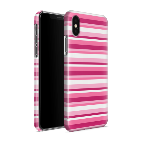 Funda Case Trendy Pink Stripes 601 - Multicolor