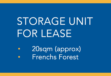 Storage Unit/10 Tilley Lane Frenchs Forest NSW 2086 - Image 2
