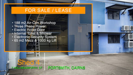Shed 4/7 Hollingsworth Street Portsmith QLD 4870 - Image 2