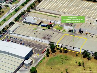 Warehouse I/145-151 Fitzgerald Road Laverton North VIC 3026 - Image 1