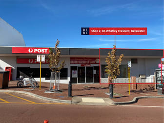Shop 2/85 Whatley Crescent Bayswater WA 6053 - Image 1