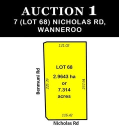 7 (Lot 68) Nicholas Road Wanneroo WA 6065 - Image 1