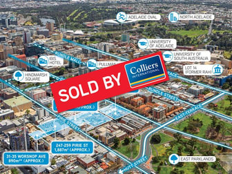 215-231 Grenfell St, 252-260 Pirie St, 247-259 Pirie St, 31-35 Worsnop Ave Adelaide SA 5000 - Image 1