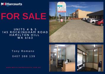 Units 4/5/145 Rockingham Road Hamilton Hill WA 6163 - Image 1