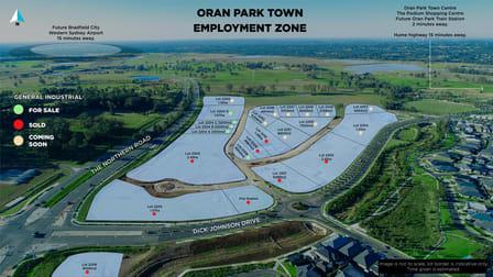 Lot 2204A/Cnr Oran Park Dr & P off Northern Road Oran Park NSW 2570 - Image 1