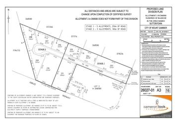 LOT 207 FRASER COURT Mount Gambier SA 5290 - Image 1