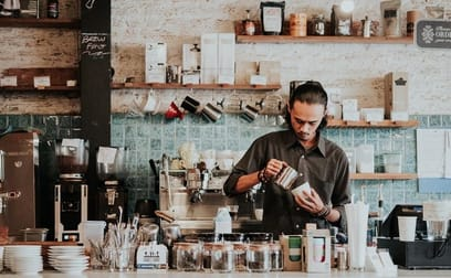 Cafe & Coffee Shop  business for sale in Kangaroo Point - Image 1