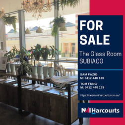 Cafe & Coffee Shop  business for sale in Subiaco - Image 1