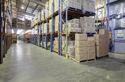 High Clearance Warehousing