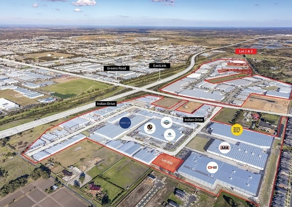 Final 3 Lots The Key Industrial Park, Keysborough VIC 3173 - Image 1