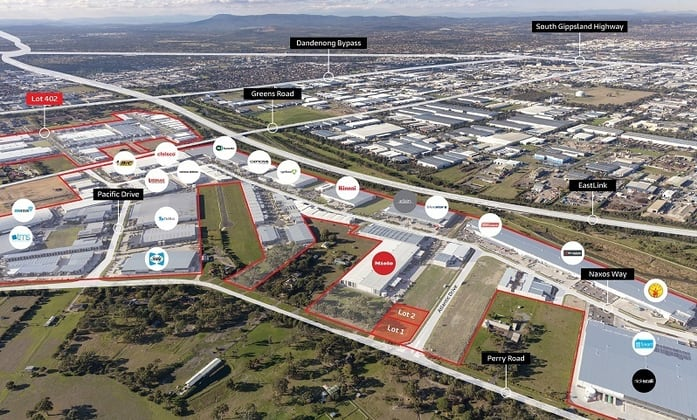 Final 3 Lots The Key Industrial Park, Keysborough VIC 3173 - Image 2