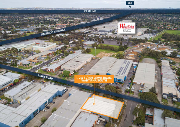 1, 2 & 3/109 Lewis Road Wantirna South VIC 3152 - Image 1