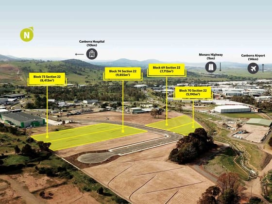 Industrial Land for Sale/10 Paspaley Street Hume ACT 2620 - Image 1