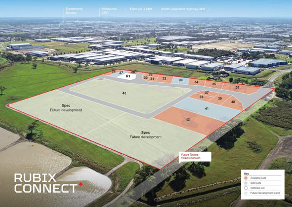 Rubix Connect/Stage 4 Taylors Road Dandenong South VIC 3175 - Image 1