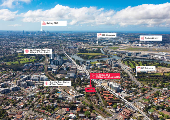 5-9 Eden Street and 39 Burrows Street Arncliffe NSW 2205 - Image 1
