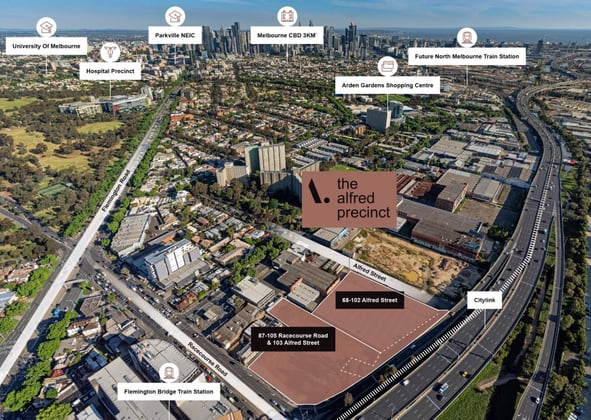 87-105 Racecourse Road, 103 Alfred Street & 68-102 Alfred Street North Melbourne VIC 3051 - Image 3