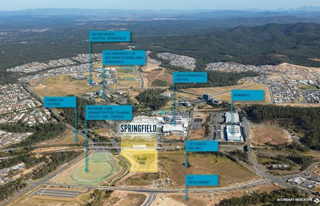 Part of Lot 64 on SP291400 / proposed Lot 1 Springfield Central QLD 4300 - Image 1