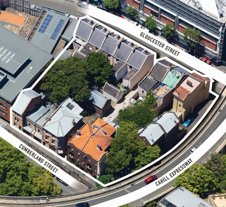 130-142 Cumberland St, 103-117A Gloucester St, 1-3 Longs Lane & 13-15 Carahers Lane The Rocks NSW 2000 - Image 2