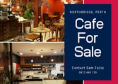 Cafe & Coffee Shop Business in Perth
