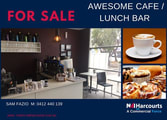 Food, Beverage & Hospitality Business in Bibra Lake
