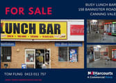 Food, Beverage & Hospitality Business in Canning Vale