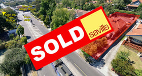 Development / Land commercial property sold at 1586 High Street Glen Iris VIC 3146