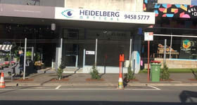Shop & Retail commercial property for lease at 153 Burgundy Street Heidelberg VIC 3084