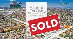 Development / Land commercial property sold at St James Terrace/294-296 Warrigal Road & 157 Centre Dandenong Road Cheltenham VIC 3192