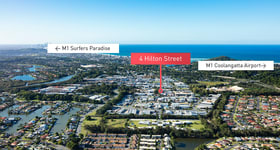 Factory, Warehouse & Industrial commercial property for sale at 4 Hilton  Street Currumbin Waters QLD 4223