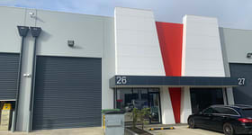 Factory, Warehouse & Industrial commercial property for sale at 26/191-195 Greens Road Dandenong VIC 3175
