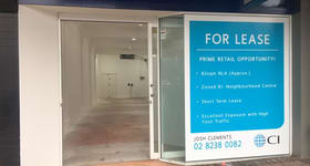 Shop & Retail commercial property for lease at 8 Ennis Road Milsons Point NSW 2061