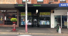 Retail commercial property for lease at 156 High Street Kew VIC 3101