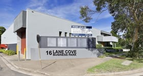 Factory, Warehouse & Industrial commercial property for lease at Unit B1/16 Mars Road Lane Cove NSW 2066