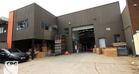 Factory, Warehouse & Industrial commercial property for lease at 16 Woorang Street Milperra NSW 2214