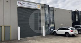 Factory, Warehouse & Industrial commercial property for lease at Unit 12/28 VORE STREET Silverwater NSW 2128