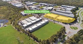 Factory, Warehouse & Industrial commercial property for lease at 1-8/2-8 Claude Boyd Parade Bells Creek QLD 4551