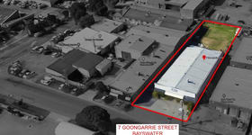 Factory, Warehouse & Industrial commercial property for lease at 7 Goongarrie St Bayswater WA 6053