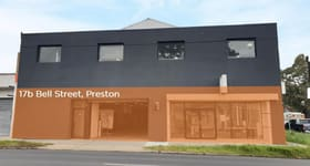 Showrooms / Bulky Goods commercial property for lease at 17b Bell Street Preston VIC 3072