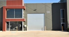 Factory, Warehouse & Industrial commercial property for lease at 98 Agar Drive Truganina VIC 3029