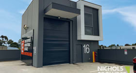 Factory, Warehouse & Industrial commercial property for lease at 16/18-20 George Street Sandringham VIC 3191