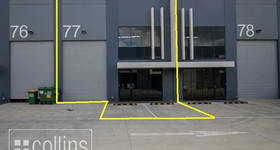 Factory, Warehouse & Industrial commercial property leased at 77/1470 Ferntree Gully Knoxfield VIC 3180