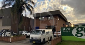 Factory, Warehouse & Industrial commercial property for lease at 12 STANLEY STREET Silverwater NSW 2128