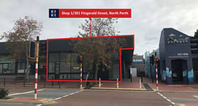 Shop & Retail commercial property for lease at Shop 1/391-395 Fitzgerald Street North Perth WA 6006