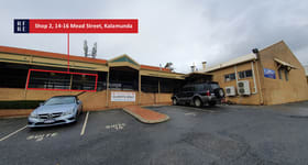 Shop & Retail commercial property for lease at Shop 2/14-16 Mead Street Kalamunda WA 6076