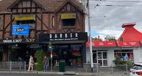 Shop & Retail commercial property for lease at 539 Glenferrie Road Hawthorn VIC 3122