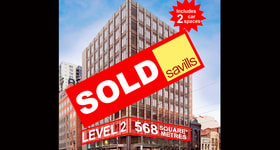 Offices commercial property sold at Level 2/620 Bourke Street Melbourne VIC 3000
