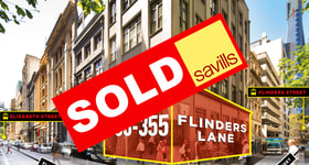 Showrooms / Bulky Goods commercial property sold at Ground, 353-355 Flinders Lane Melbourne VIC 3000